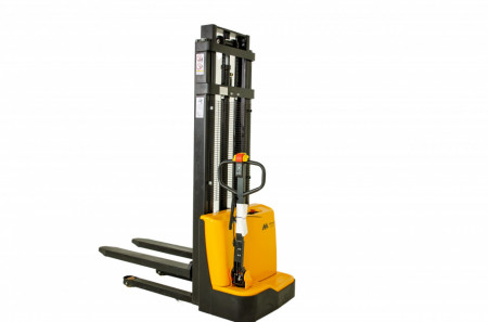 SE1025ME, STIVUITOR ELECTRIC, CAPACITATE 1.000 KG, INALTIME RIDICARE 2.500 MM, BASIC, MANETA ACTIONARE ELECTRICA