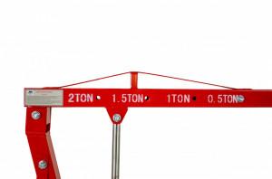 Macara girafa ToolMaster, picioare pliabile, 2 tone sarcina
