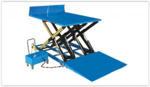 PD2500, Masa hidraulica fixa, pentru descarcarea/incarcarea camionelor, semi-remorcilor si containerelor