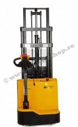 SE1030, STIVUITOR ELECTRIC, CAPACITATE 1.000 KG, INALTIME RIDICARE 3.000 MM