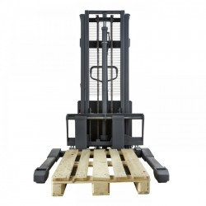 SSER1016, STIVUITOR SEMI-ELECTRIC, CAPACITATE 1.000 KG, INALTIME DE RIDICARE 1.600 MM