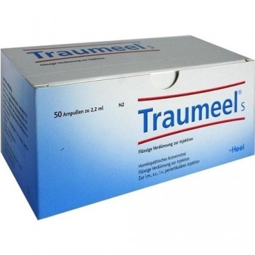 TRAUMEEL S , FIOLE INJECTABILE, 50 FIOLE X 2.2 ML + TRANSPORT GRATUIT