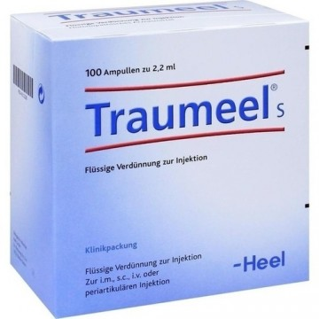 TRAUMEEL S , FIOLE INJECTABILE, 100 FIOLE X 2.2 ML + TRANSPORT GRATUIT