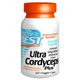 Doctor's Best, Ultra Cordyceps Plus, 60 Capsule vegetale + TRANSPORT GRATUIT