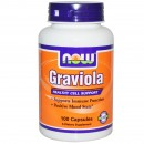 Now Foods, Graviola, 500 mg, 100 Capsule + TRANSPORT GRATUIT