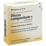 Discus Compositum N cu Kalmia fiole 2,2 ml ,Tratament Hernie De Disc, Afecțiuni Articulare + TRANSPORT GRATUIT