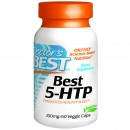 Doctor's Best, Best 5-HTP, 100 mg, 60 Capsule vegetariene + TRANSPORT GRATUIT
