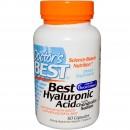 Doctor's Best, Best Hyaluronic Acid cu Condroitin Sulfat, 60 Capsule + TRANSPORT GRATUIT