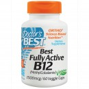 Doctor's Best, Best Fully Active B12, 1500 mcg, 60 Capasule vegetale + TRANSPORT GRATUIT