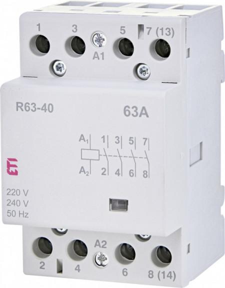 Contactor Modular R 63-40 230V, ETI