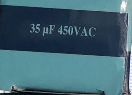 Condensator pornire motor 35 uF