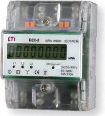 Contor trifazat DEC-2 ETI