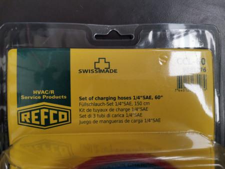 Set furtune freon Refco original CCL-60, lungime 150 cm