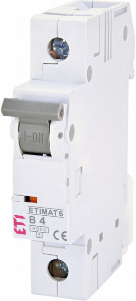 Siguranta automata ETIMAT 6 1p B4 ETI