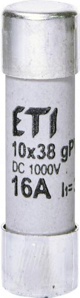 Siguranța fuzibila cilindrice CH10x38 gPV 16A/1000V DC