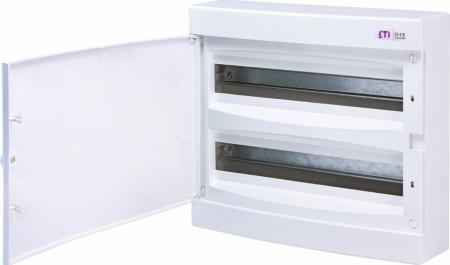 Tablou sigurante automate pe tencuiala ECT 2x18PT eti