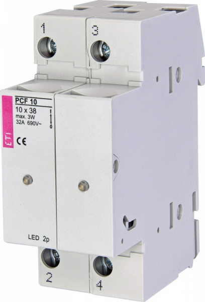 Separator sigurante fuzibile PCF 10 2p LED, ETI