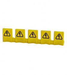 Protectie busbar impotriva atingerii directe, 5 borne