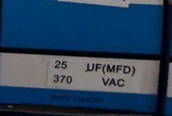 Condensator pornire motor 25 uF