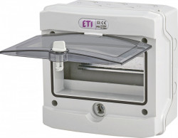 Tablou electric aplicat 8 module, IP65 ETI