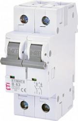 Siguranta automata ETIMAT 6 2p B63 eti