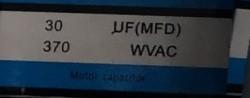 Condensator pornire motor 30 uF