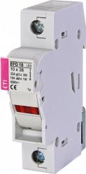Separator sigurante fuzibile EFD 10 1p LED eti