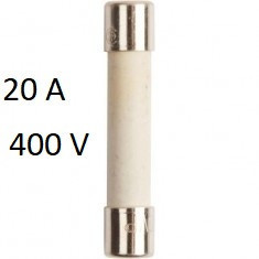 Siguranța fuzibila cilindrice CH10x38 gG 20A/400V , Joasă Tensiune ETI
