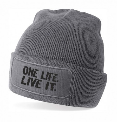 One life. live it.