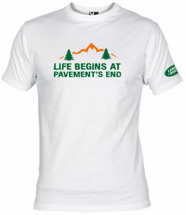 Life Begins at Pavement end...