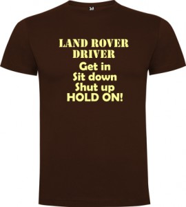 Land Rover Driver