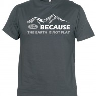 Because the earth is not flat...