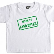 Made in Land Rover...