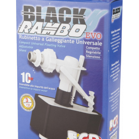 Robinet Flotor Black Rambo / D[inch]: 3/8