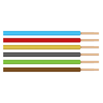 Conductor Electric FY / S[mmp]: 1.5; C: negru