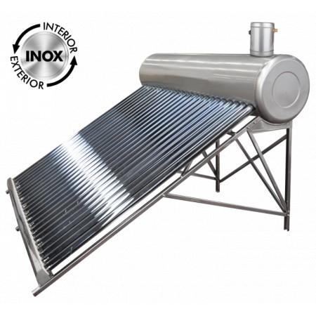 Sistem Panou Solar cu Tuburi Vidate SP-470 C INOX / Vt[mm]: 334; Vr[l]: 250; T[buc]: 30; D[mm]: 58; L[mm]: 1800
