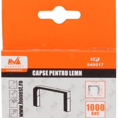 Capse Lemn 1000 Pcs / h[mm]: 10; g[mm]: 1.2