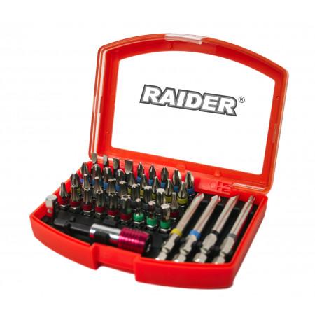 Set 42 biti si suport magnetic 1/4'' Raider