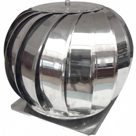 Capac Terminal Cos de Fum Rotativ INOX cu Talpa Bg ESP / D[mm]: 200