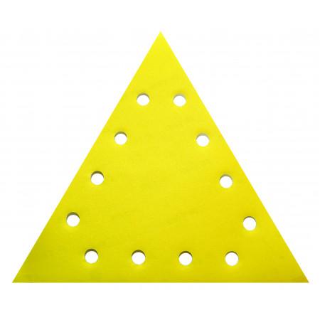 Set 5 bucati smirghel VELCRO triunghiular 285mm grit 80