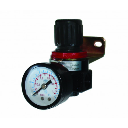 Regulator aer cu ceas 1/4 F RD