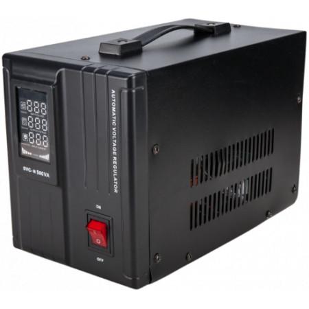 Stabilizator de Tensiune 500VA, LCD Display, Servomotor si Functie de Intarziere / P[W]: 400