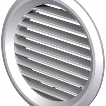 Grila de Ventilatie Rotunda cu Plasa 1111 / Cod: MV125bVs; D[mm]: 125