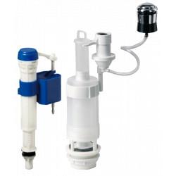Mecanism WC Pneumatic cu Robinet Flotor Intrare Verticala / D[inch]: 3/8