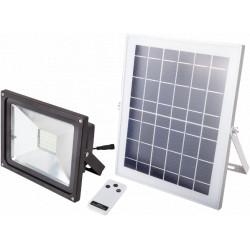 Proiector LED cu Incarcare Solara si Telecomanda / P[W]: 6; Ps[W]: 12; C1: c00232; C2: c00233