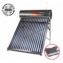 Sistem Panou Solar cu Tuburi Vidate si Controller 1024-58 INOX / Vt[mm]: 334; Vr[l]: 250; T[buc]: 30; D[mm]: 58; L[mm]: 1800
