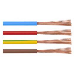 Cablu Electric MYF / S[mmp]: 1.5; C: rosu