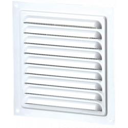 Grila de Ventilatie Metalica cu Plasa 1111 / Cod: MVM 300s; L[mm]: 300; C: Alb