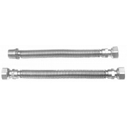 Racord Flexibil Inox pt Gaz / D[inch]: 1/2; L[cm]: 26-52; C: FI-FE
