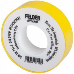 Banda Teflon Felder / L[m]: 12; B[mm]: 12; g[mm]: 0.1
